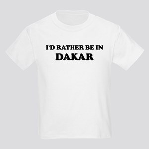 Rather be in Dakar Kids T-Shirt