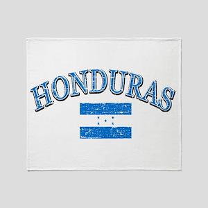 Honduras Soccer designs Throw Blanket