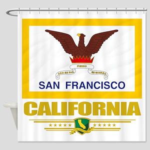 San Francisco (Flag 10) Shower Curtain