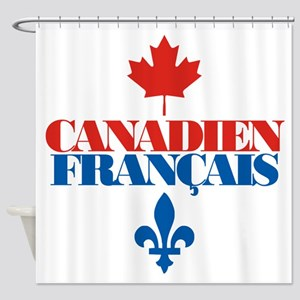 Canadien Francais 5 Shower Curtain