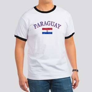 Paraguay Soccer designs Ringer T