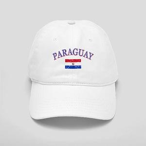 Paraguay Soccer designs Cap