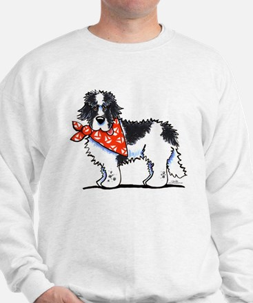 Landseer Newfie Sailor Sweatshirt