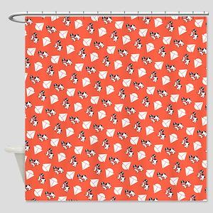Landseer Newfie Sailor Shower Curtain