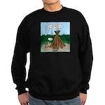 Knots Leave No Trace Bonfire Sweatshirt (dark)
