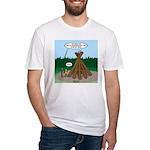 Knots Leave No Trace Bonfire Fitted T-Shirt