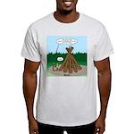 Knots Leave No Trace Bonfire Light T-Shirt