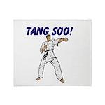 Tang Soo Throw Blanket