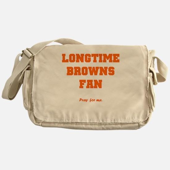 Browns Messenger Bag