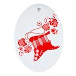 RedRosa Ornament (Oval)