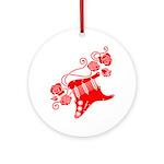 RedRosa Ornament (Round)