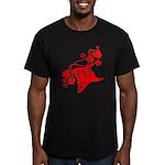 RedRosa Men's Fitted T-Shirt (dark)