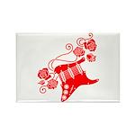 RedRosa Rectangle Magnet (100 pack)
