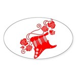RedRosa Sticker (Oval)