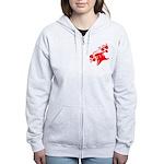 RedRosa Women's Zip Hoodie