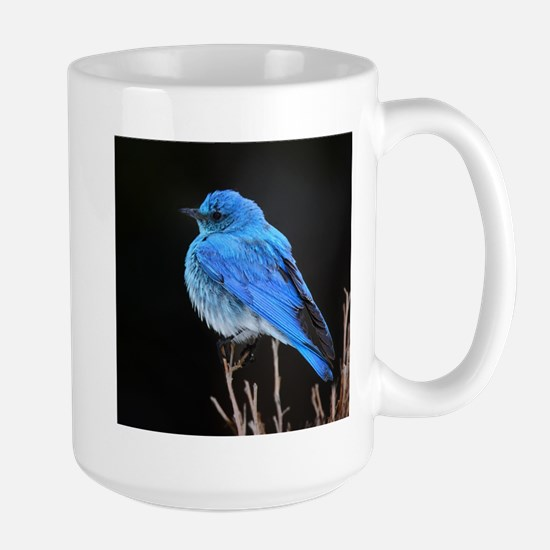 Mountain Blue Bird Large Mug