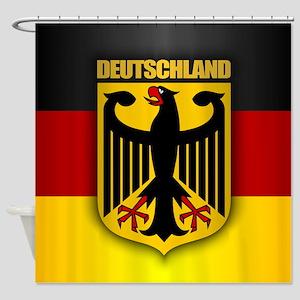 Deutschland Pride Shower Curtain