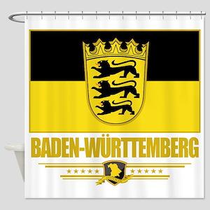 Baden-Wurttemberg (Flag 10) Shower Curtain