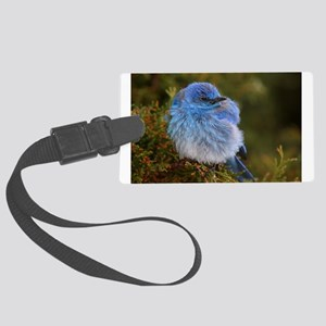 Mountain Blue Large Luggage Tag