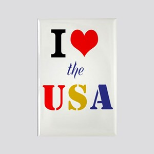 Love the USA Rectangle Magnet