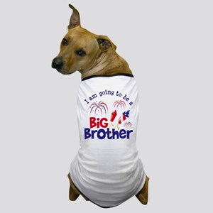 Firecracker Big Brother to be Dog T-Shirt