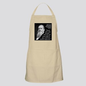 Young Live Quote 2 Apron