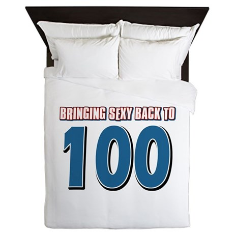 Bringing sexy back to 100 Queen Duvet