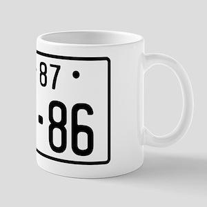 Mug - AE86 JDM licence plate