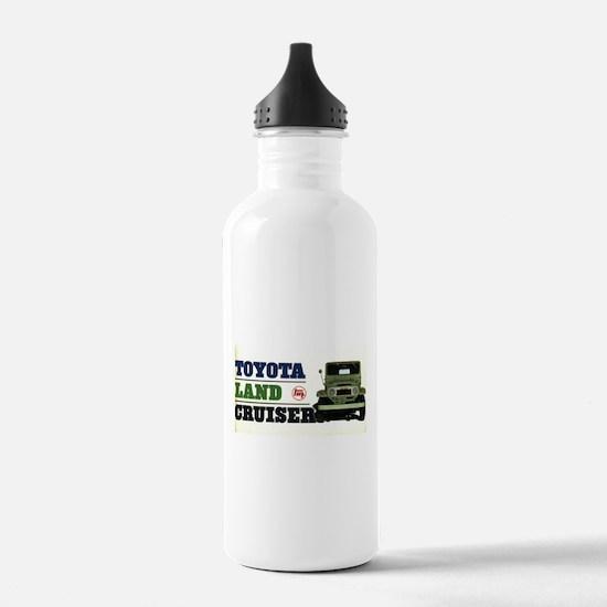 Stainless Bottle 1.0L - Toyota LandCruiser FJ20
