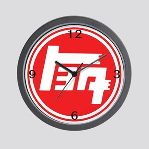Wall Clock - TEQ logo red