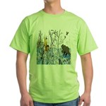 Native American Warrior Green T-Shirt