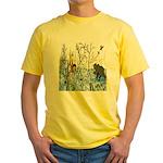 Native American Warrior Yellow T-Shirt