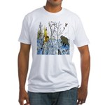 Native American Warrior Fitted T-Shirt