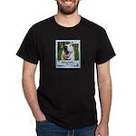 Happy Husky Dark T-Shirt
