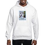 Dylan the Husky Hooded Sweatshirt