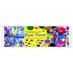 Eye Test Sticker (Bumper)