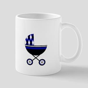 Blue Stroller Mug