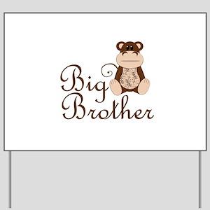 Big Brother Monkey Yard Sign