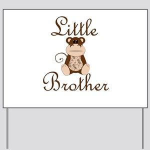 Little Brother Monkey Yard Sign