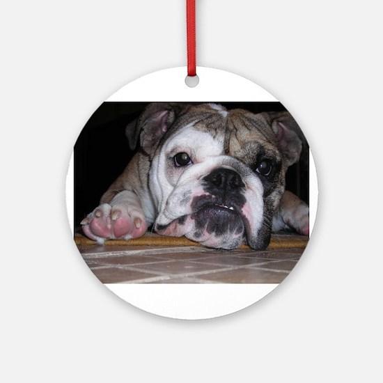 Baby Rita copy.jpg Ornament (Round)