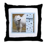 Samoyed Throw Pillow