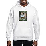 Sheltie ( Shetland Sheepdog ) Hooded Sweatshirt