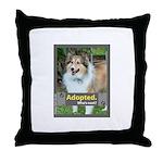 Sheltie ( Shetland Sheepdog ) Throw Pillow