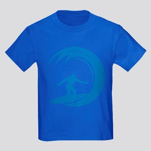 Surfing Kids Dark T-Shirt
