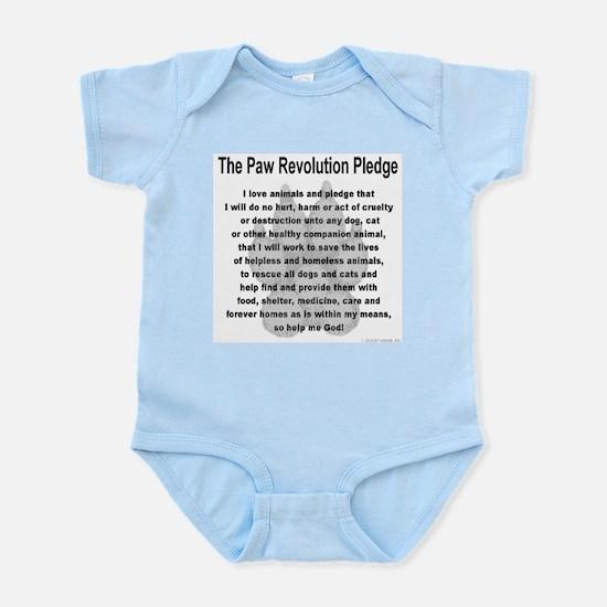The Paw Revolution Pledge Infant Bodysuit