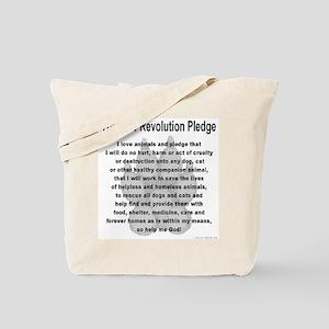 The Paw Revolution Pledge Tote Bag