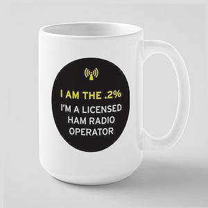 I am the .2% Large Mug