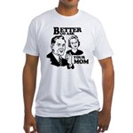 Ask Your Mom Fitted T-Shirt