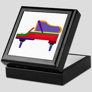 Funky Piano Keepsake Box