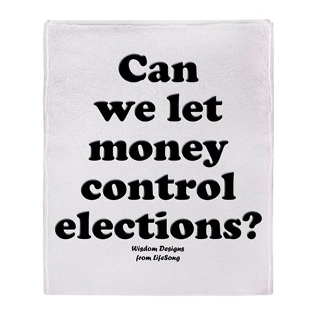Control Elections Throw Blanket